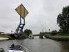Eine witzige Hebebrücke bei Leeuwarden